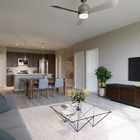 Pullman Pointe Living/Dining Room Combo