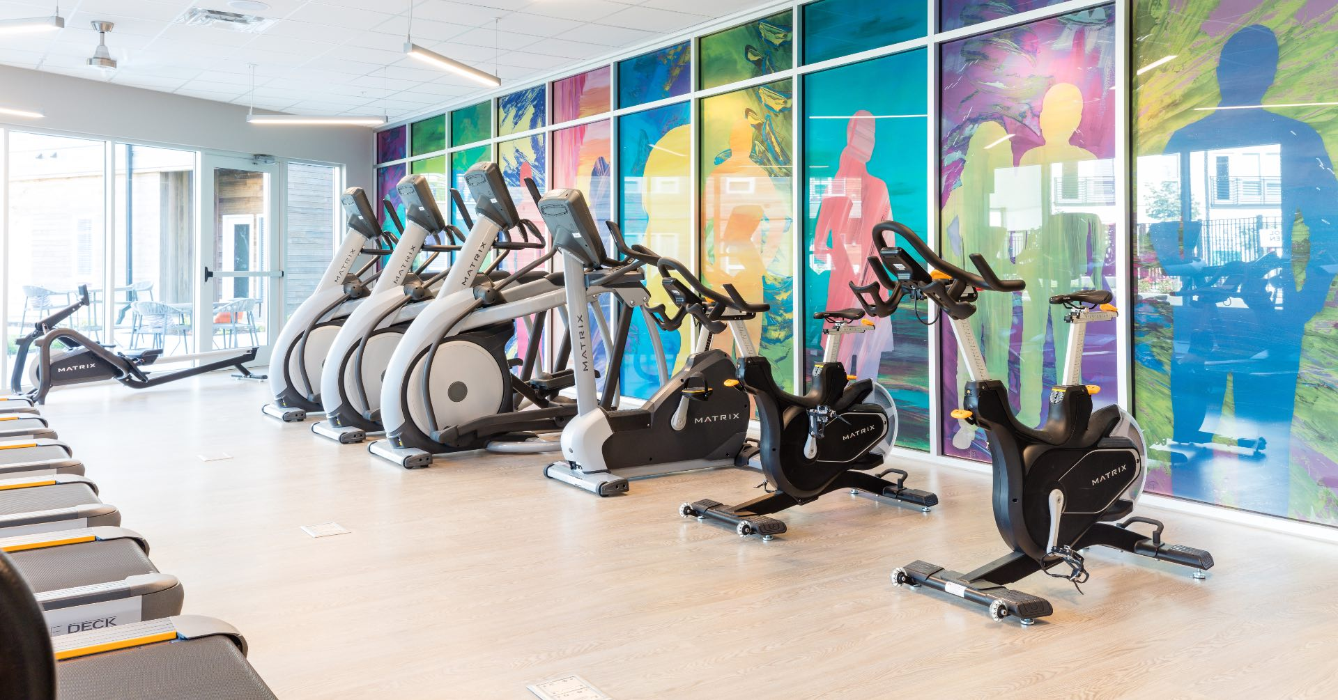 Spark Aparments Fitness Center