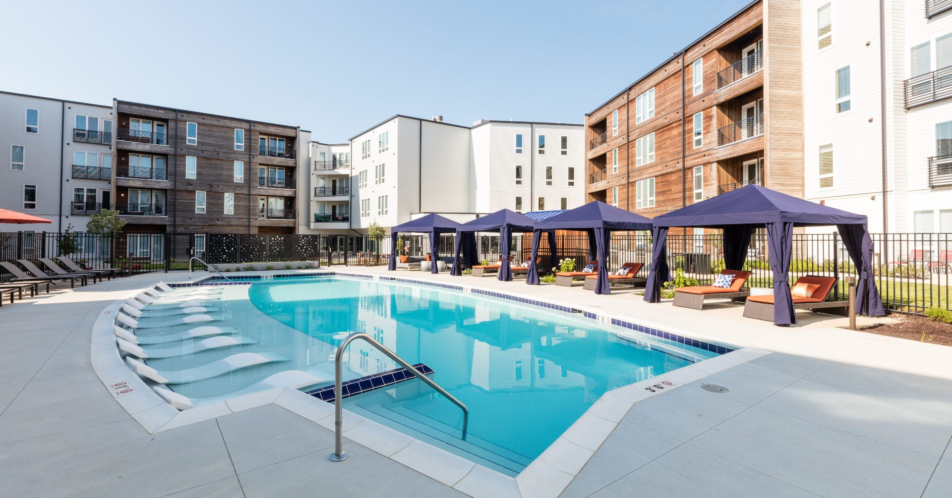 Spark Apartments Pool